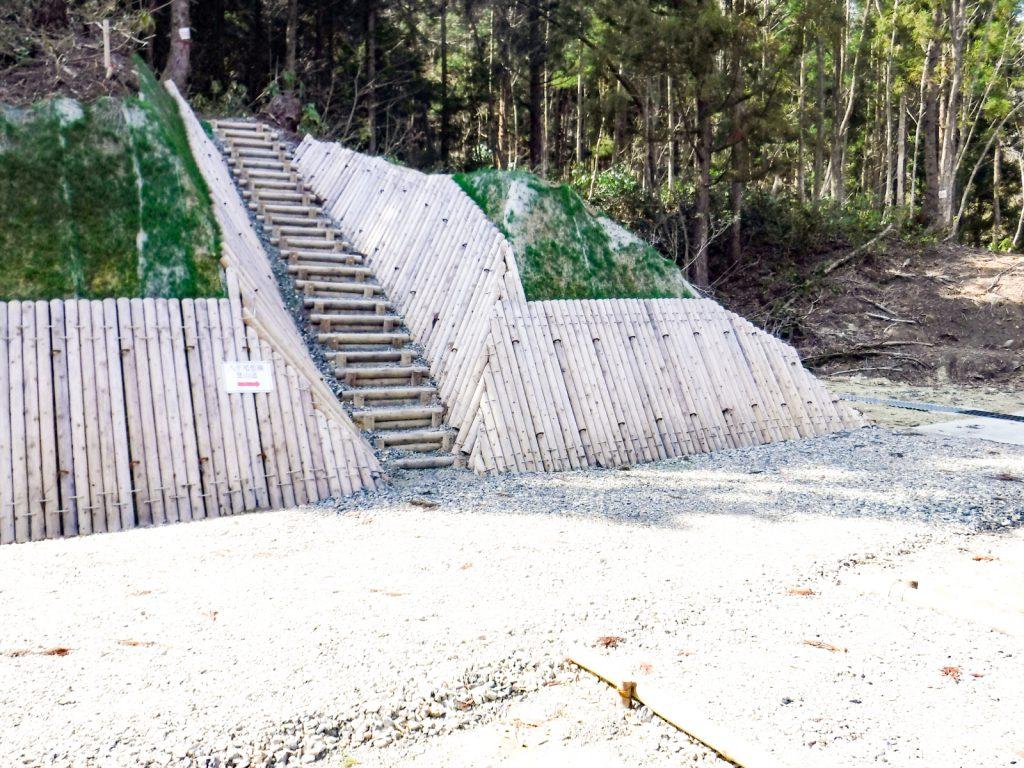 高地沢林業専用道新設工事04